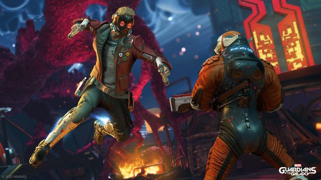 Square Enix's Guardians of the Galaxy game lets you be Star-Lord