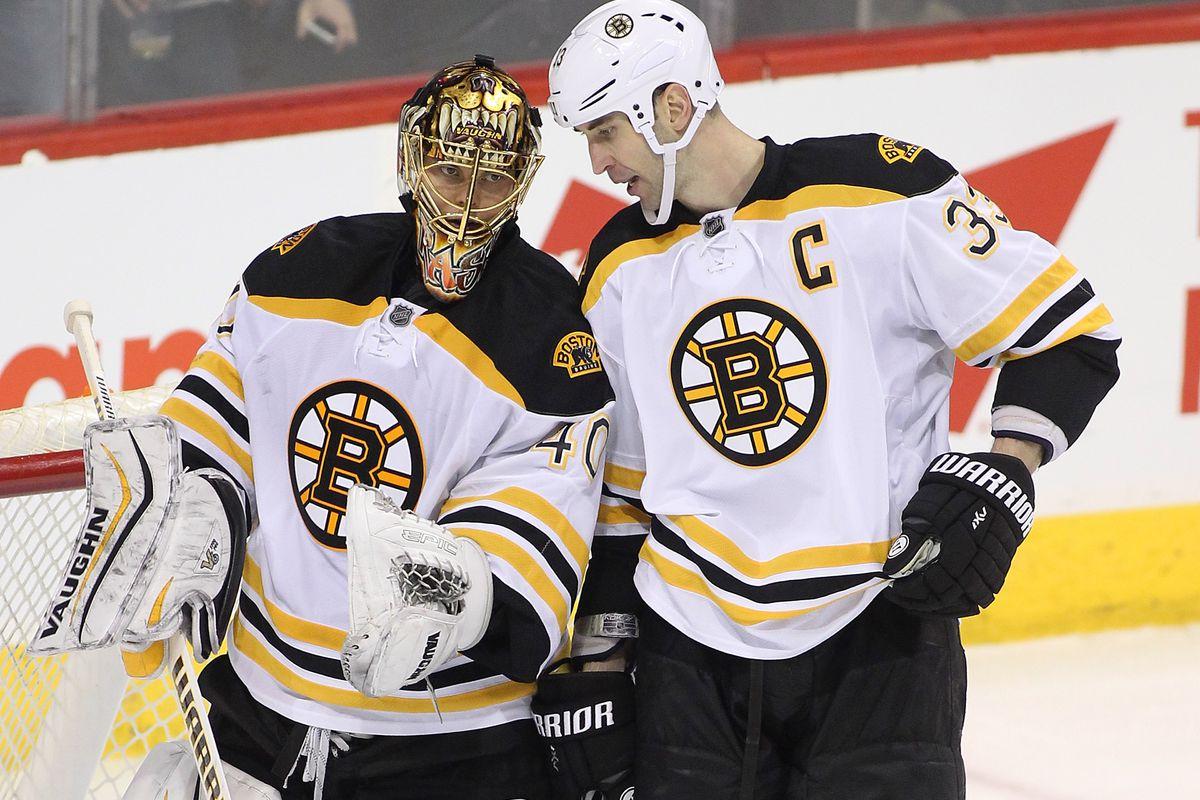 Boston Bruins v Winnipeg Jets