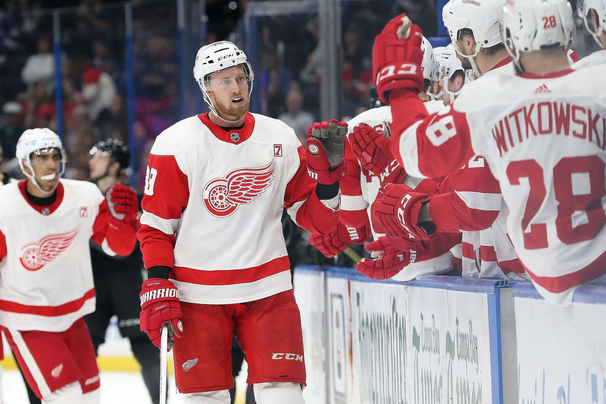 big sale 5c692 147d9 Detroit Red Wings vs Florida Panthers  Updates, Lineups, Keys to the Game