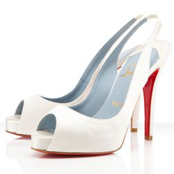 "<b>Christian Louboutin</b> N°Prive 120mm, <a href=""http://us.christianlouboutin.com/shoes-1/bridal/n-prive-120mm.html"">$845</a>"