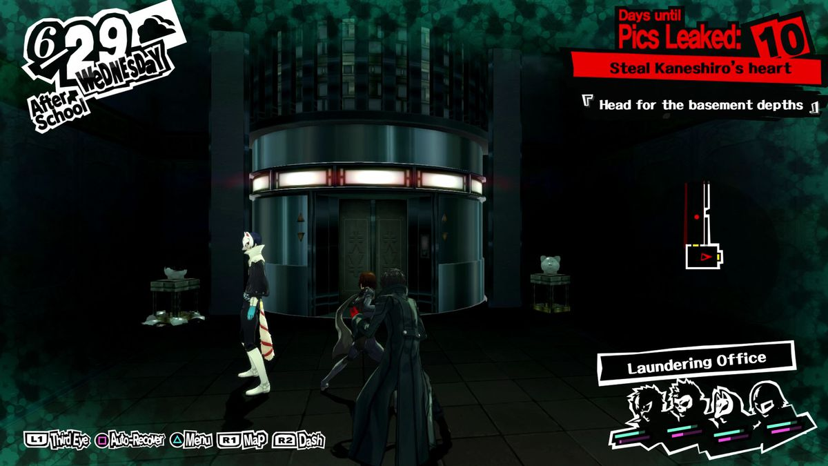 Persona 5 guide: All of June and Kaneshiro's Bank Palace - Polygon