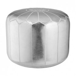 Pouf in Silver $59.99 Available at Target.com only