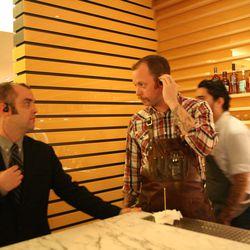 Beverage director Owen Thomson.