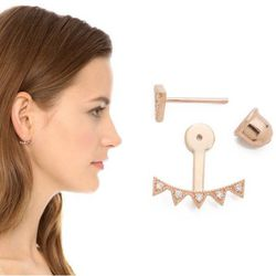 "<b>Jacquie Aiche</b> Bar Stud and Starburst Ear Jacket, <a href=""http://www.shopbop.com/bar-stud-starburst-ear-jacket/vp/v=1/1580012752.htm?folderID=2534374302029428&colorId=14555&extid=affprg_CJ_SB_US-1909792-ShopStyle.com-2178999"">$308</a>"