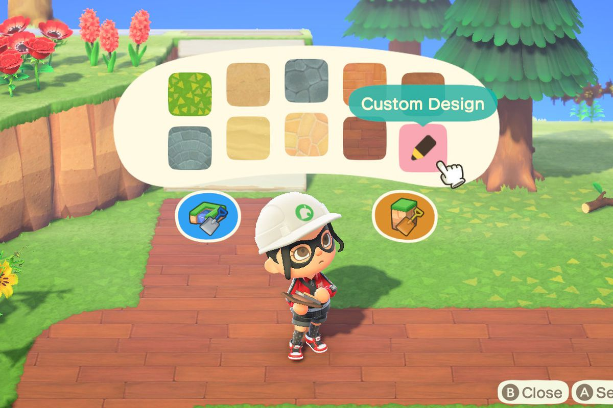 Animal Crossing New Horizons Playground Qr