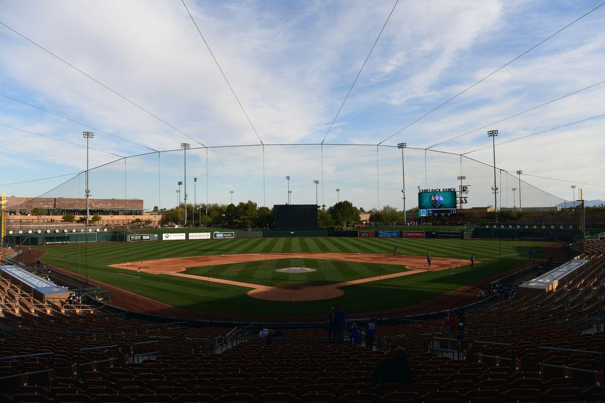 Los Angeles Dodgers vs Kansas City Royals, 2021 Spring Training