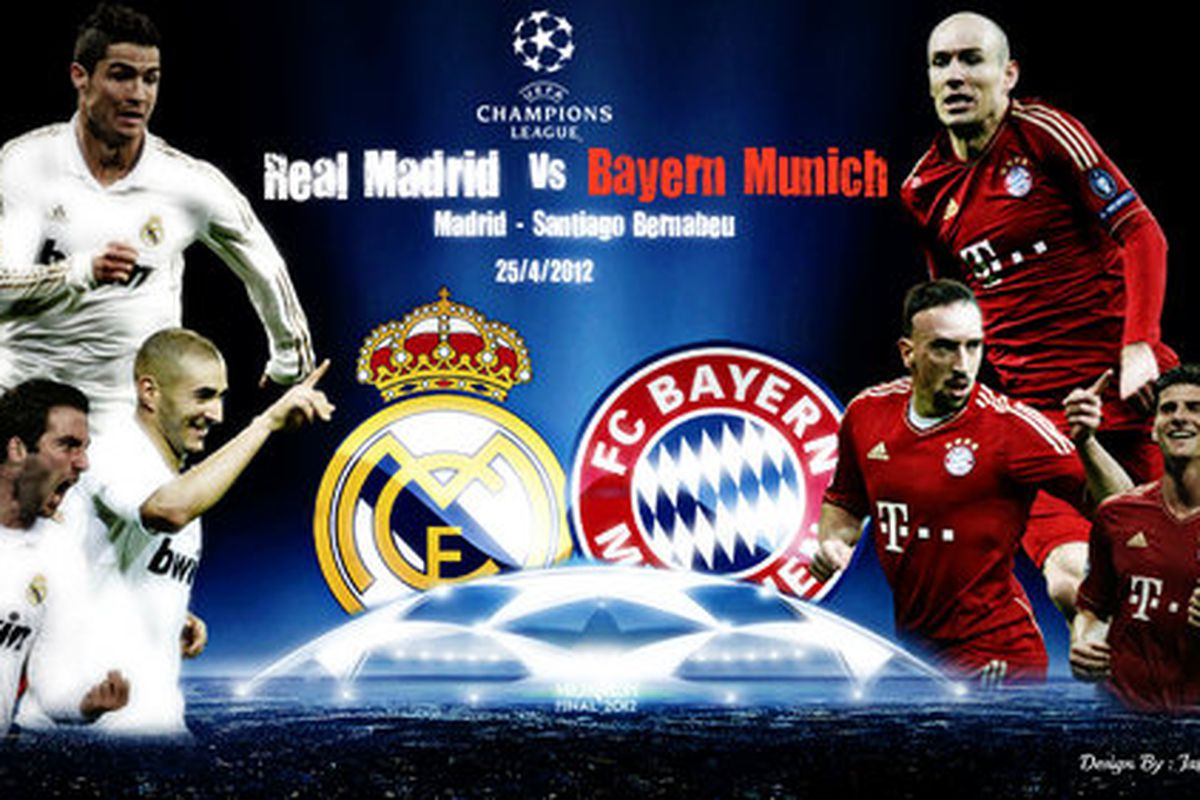 champions league bayern madrid