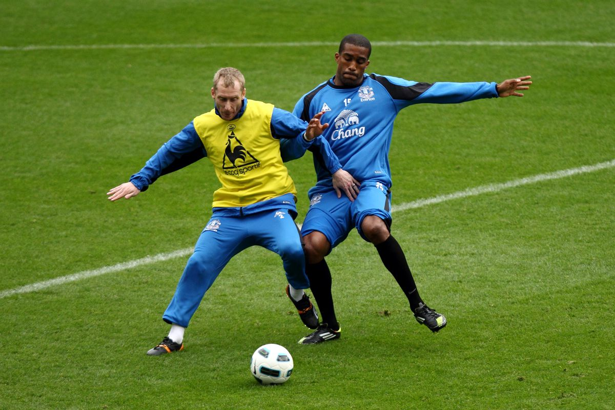 Soccer - Everton FC Open Training Session - Goodison Park