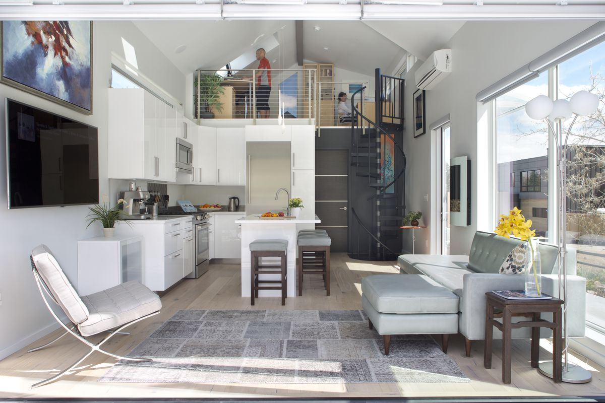 506-square-foot modern house