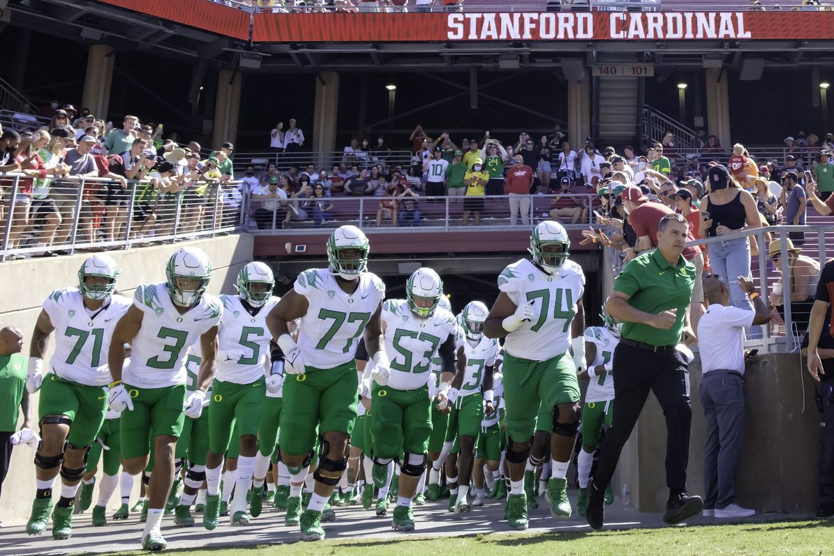 COLLEGE FOOTBALL: OCT 02 Oregon at Stanford