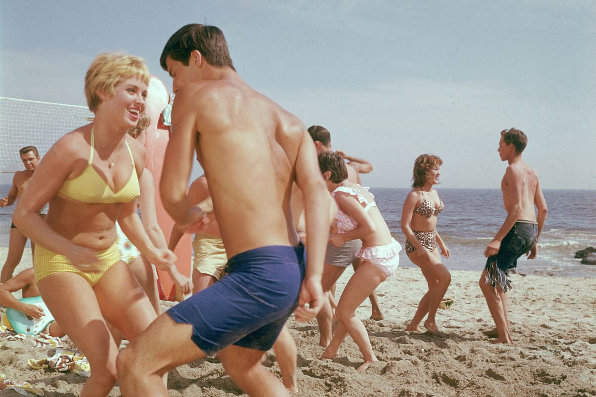 Beach party! But the song of summer is a lot older than 1960.