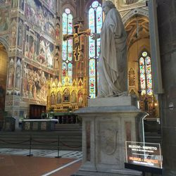 Basilica di Santa Croce in Florence, Italy.