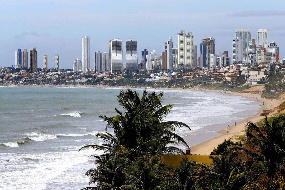 Hey, Phoenix got a beach? No. It's Natal, where USA are playing Ghana today in Brazil.