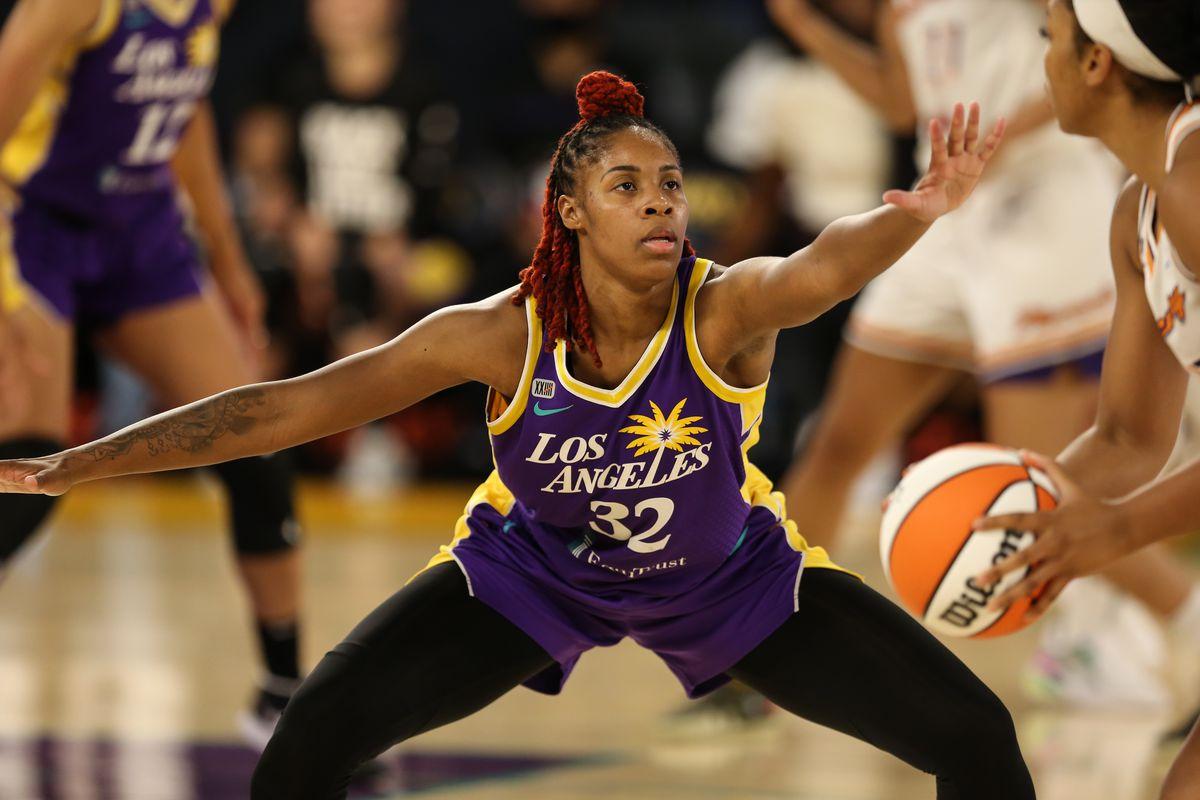 WNBA: JUN 16 Phoenix Mercury at Los Angeles Sparks
