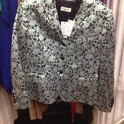 Dries van Noten silk brocade blazer, $379 (from $449)
