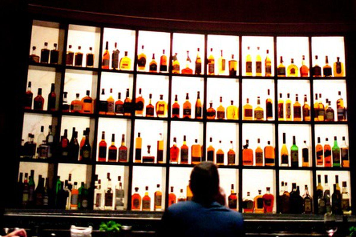"The Bourbon Bar At Southern Art <a href=""http://www.4squarephotos.com/blog/""></a>"