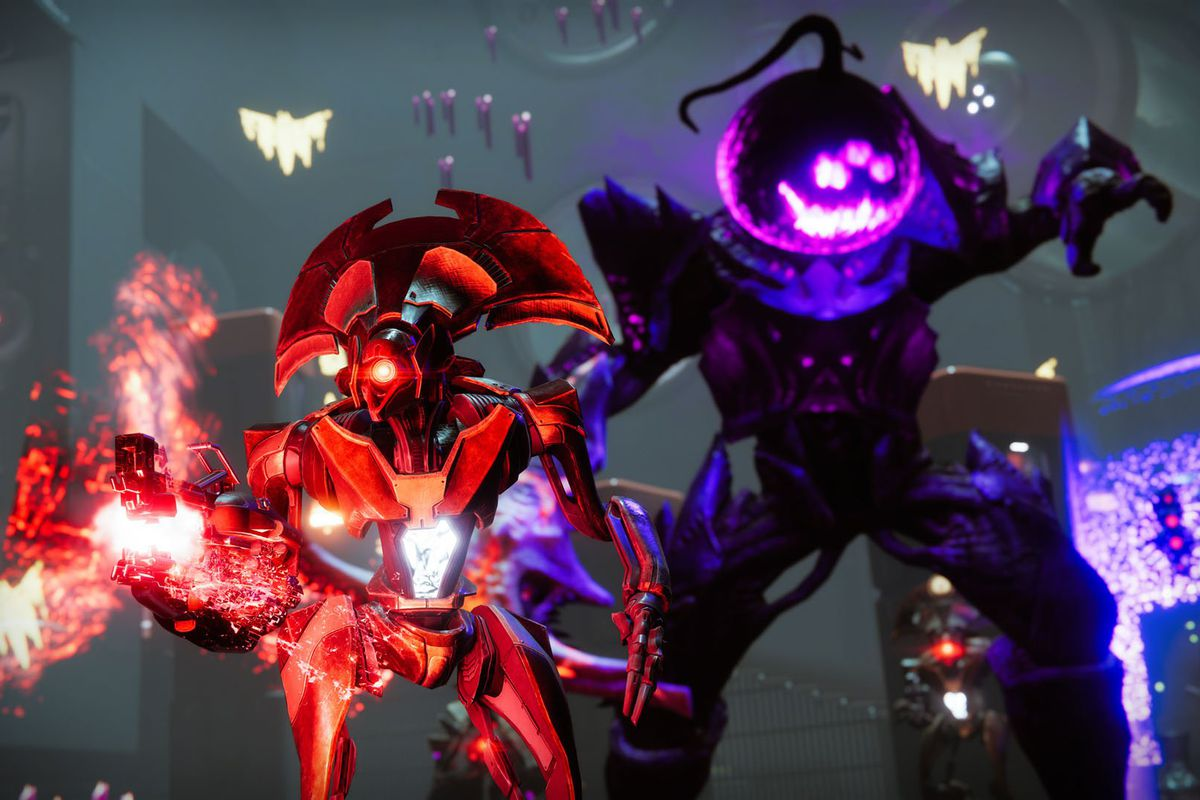 Destiny 2 Festival of the Lost Headless One and Vex Goblin