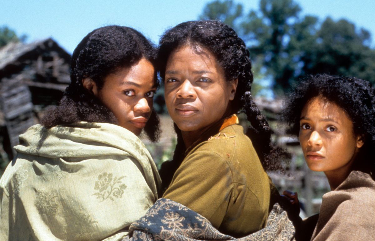 Kimberly Elise, Winfrey, and Thandie Newton in 'Beloved' (GettyImages)