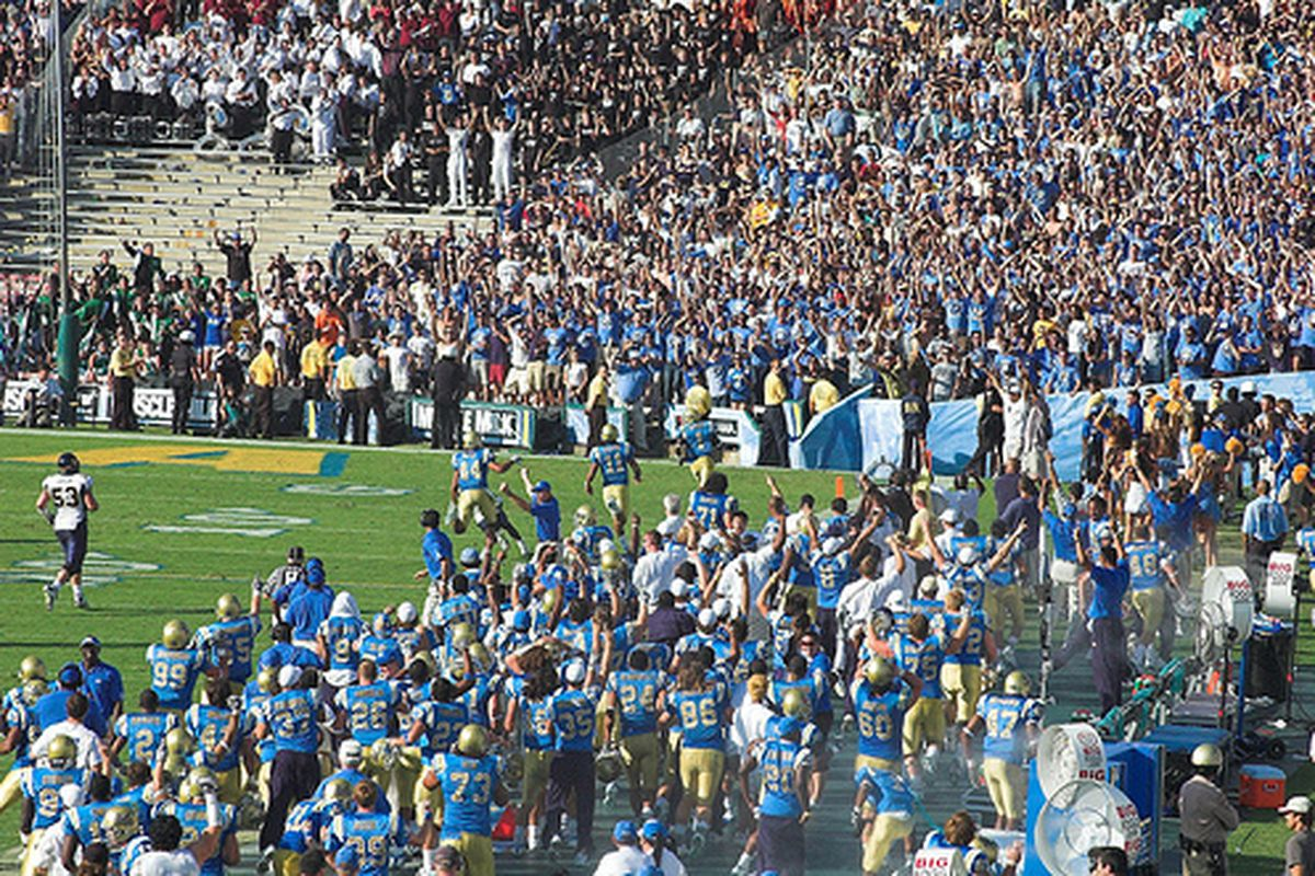 """Bruins are SCORING BIG with days left till signing day. Photo Credit: <a href=""""http://www.flickr.com/photos/bdeaton/1770995142/"""" target=""""new"""">bdeaton (flickr)</a>"""