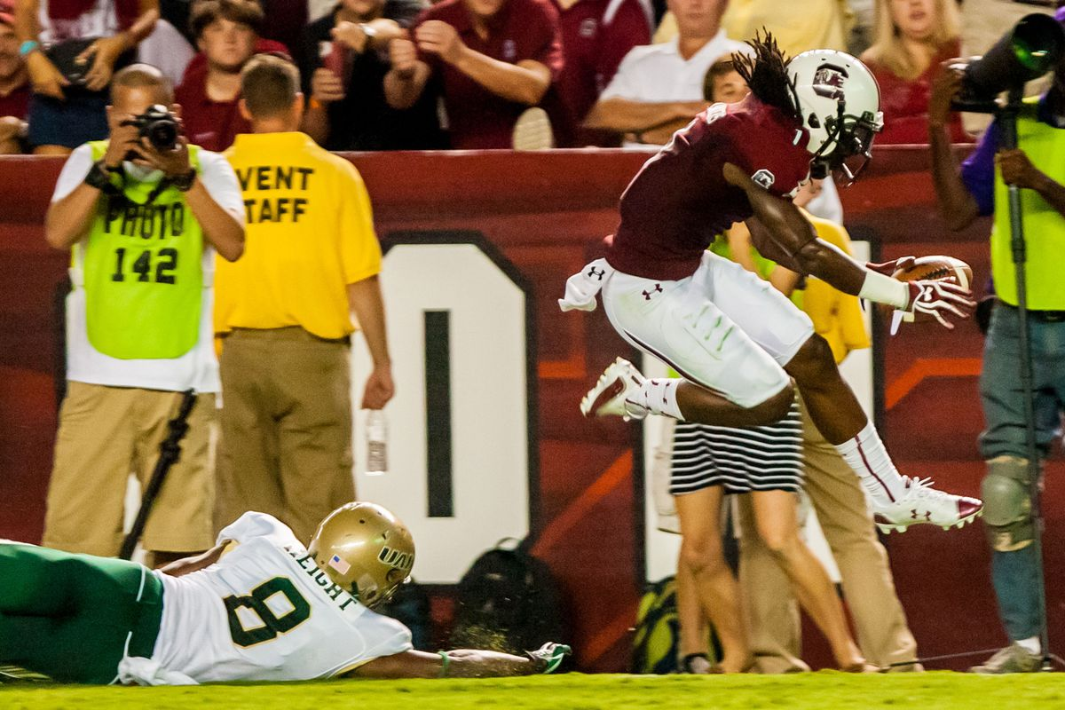 September 15, 2012;  A guy in red streaking past a fallen UAB defender? I think we might be seeing more of this very soon.