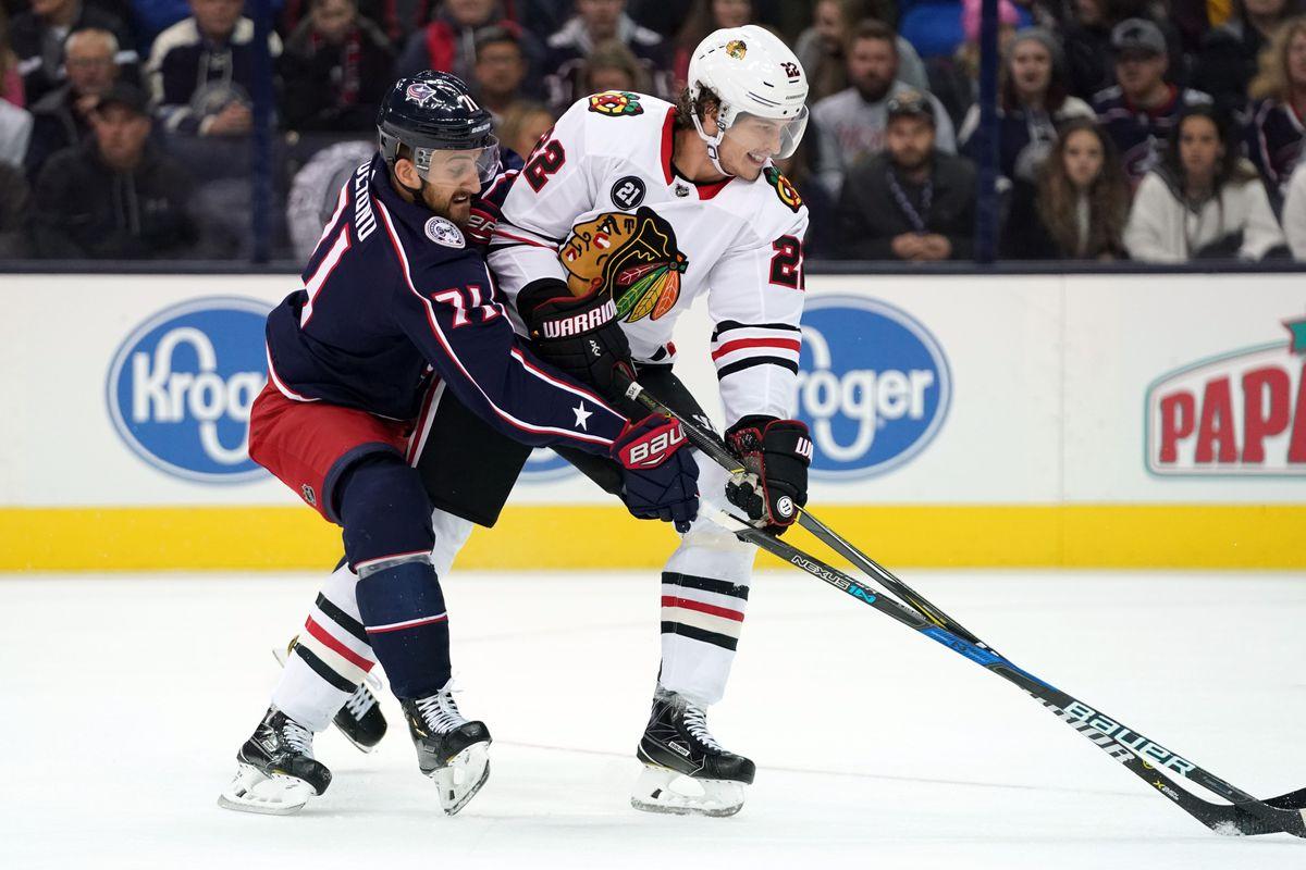 NHL: Chicago Blackhawks at Columbus Blue Jackets