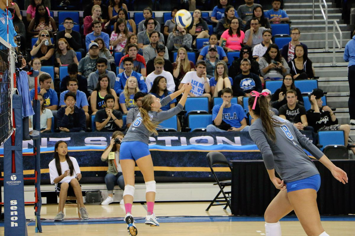 No. 18 UCLA Women s Volleyball Faces Toughest Test of the Year at No ... 880ff15f5176