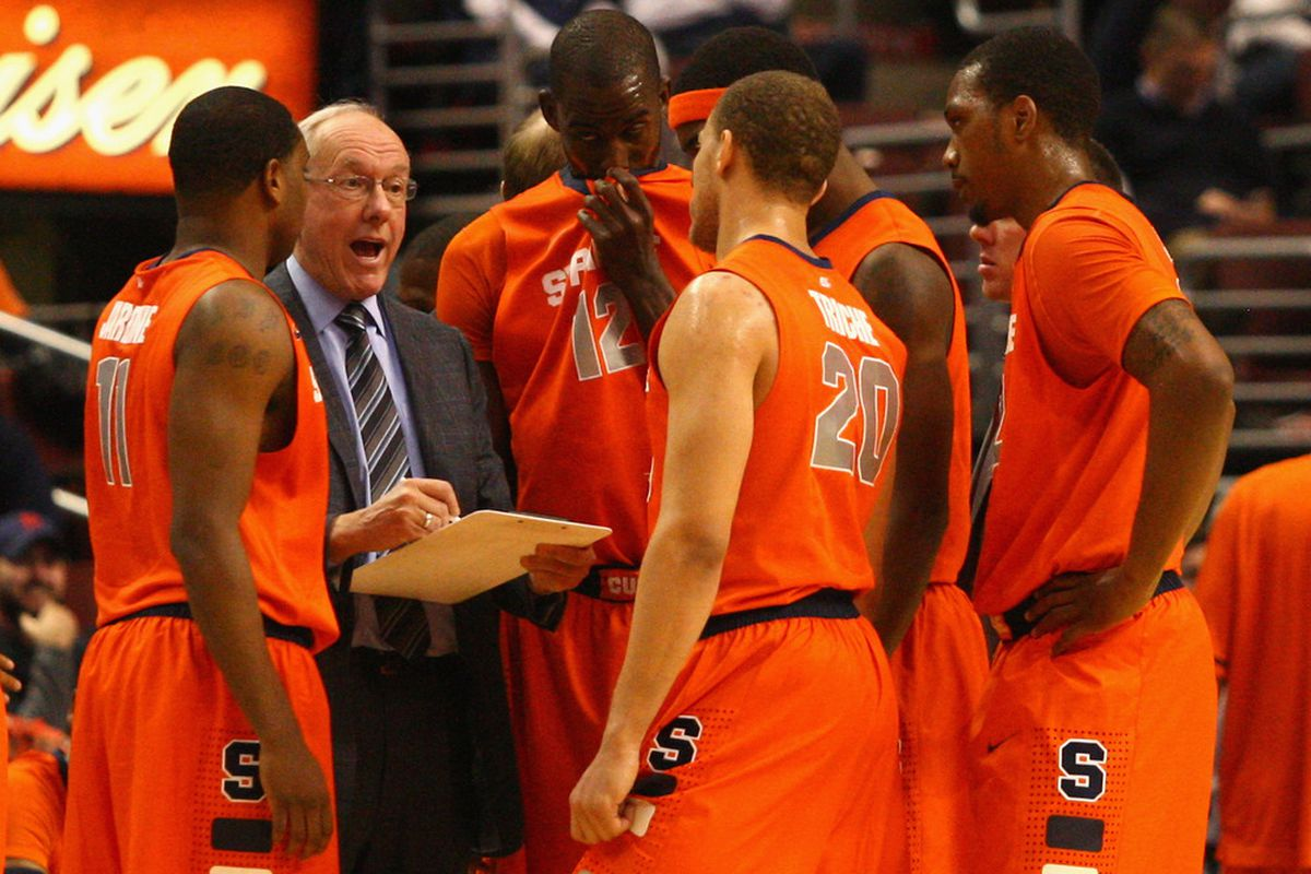 The Orange have been the dominant team in college basketball this season. (Photo by Chris Chambers/Getty Images)