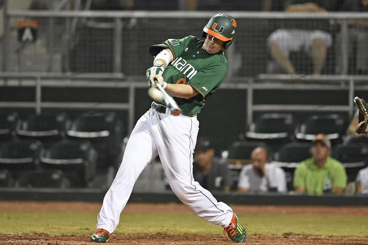 All-American C Zack Collins leads #3 National Seed Miami into the NCAA Baseball Tournament