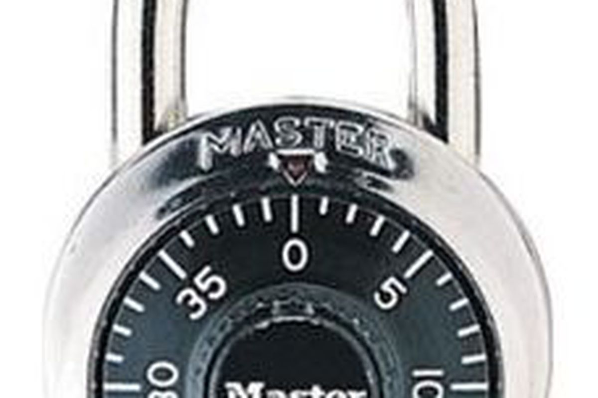 Master Lock 1500D