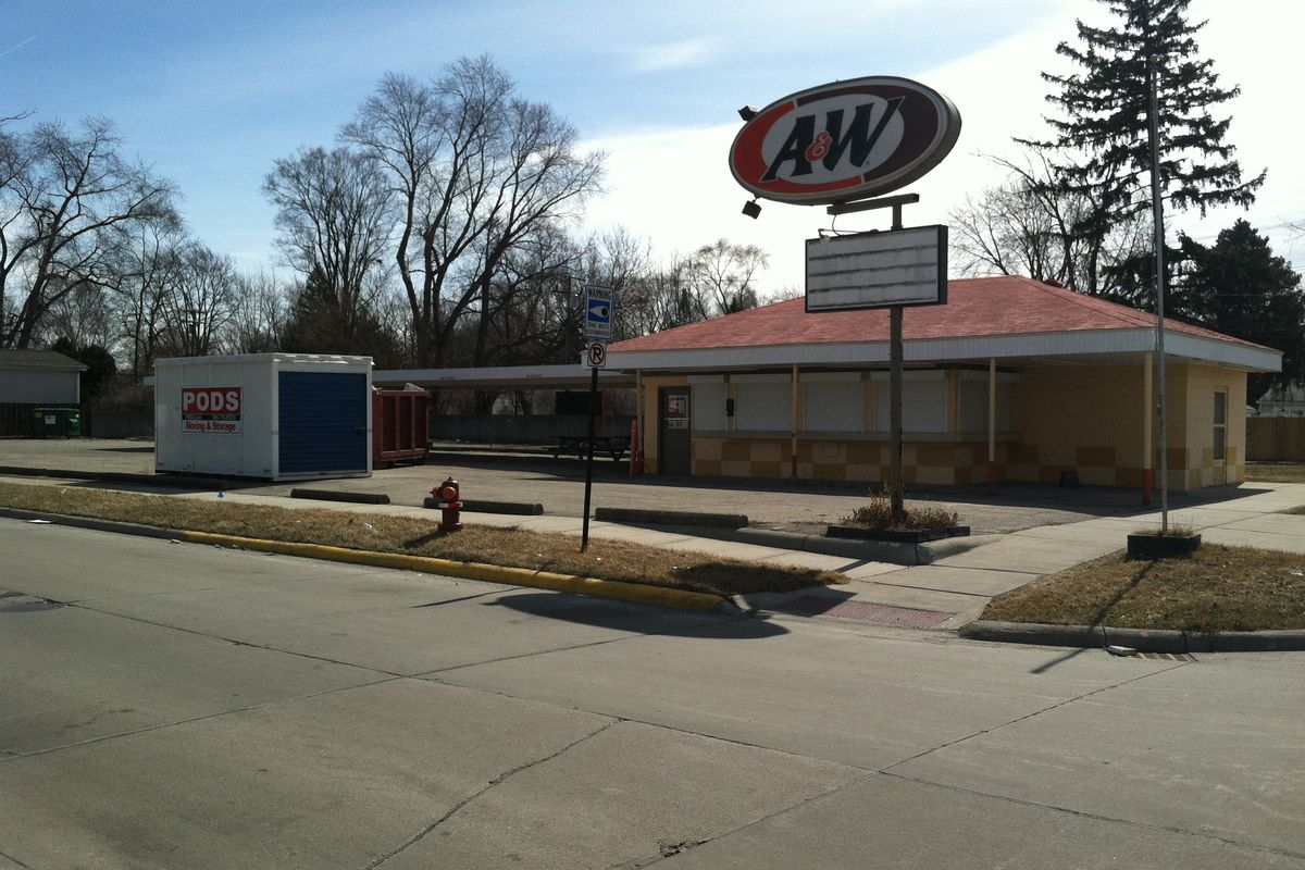 This A&W in Clawson is the future home of Woodpile BBQ Shack.