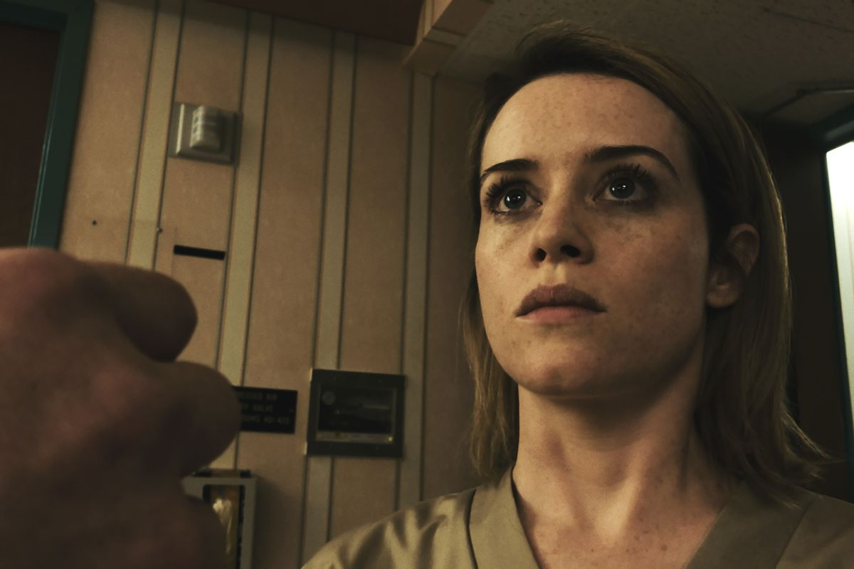 In the trailer for Steven Soderbergh\'s iPhone-shot movie Unsane ...