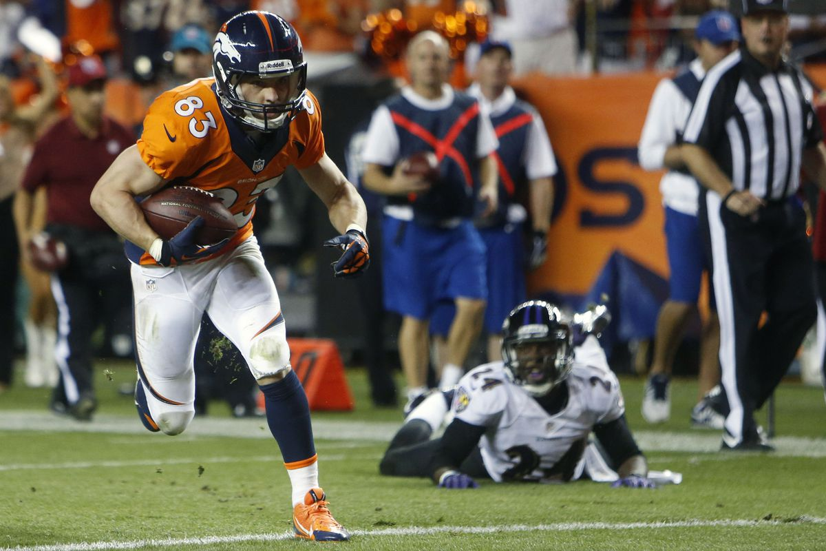 Wes Welker and the Denver Broncos passing attack put on a clinic in the second half of the NFL's Kick-off game