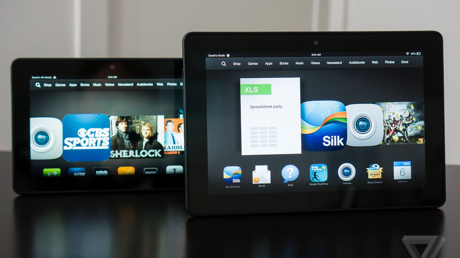 Kindle Vs Sony Reader: Amazon Kindle Fire HDX Review (8.9-inch)