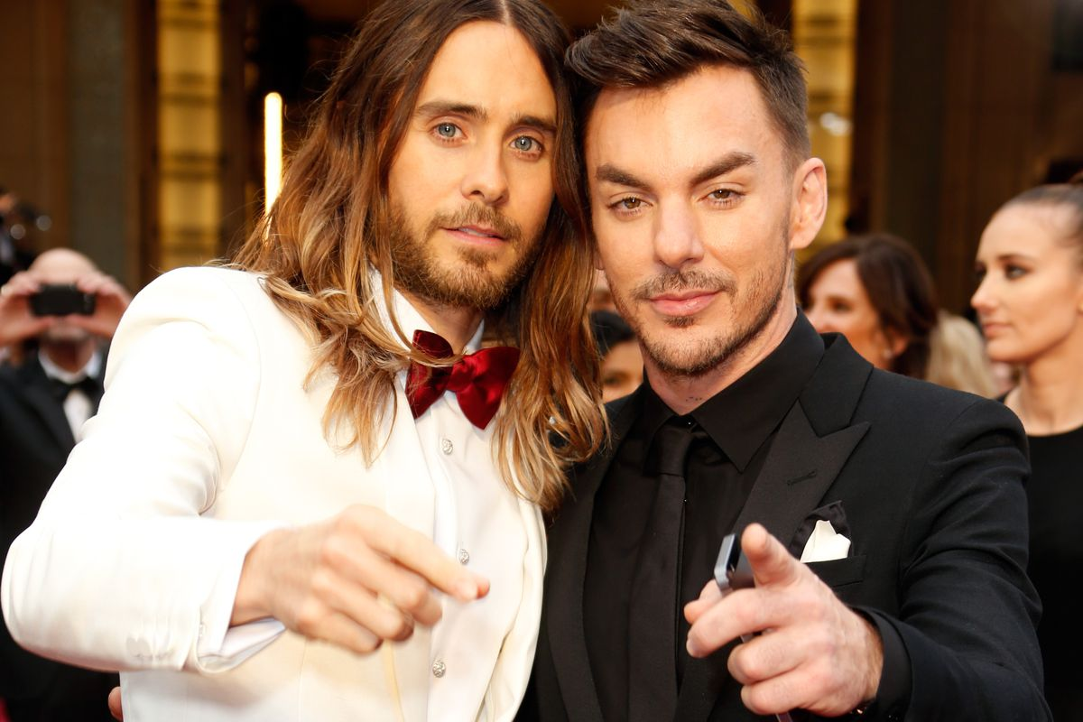 Shannon Leto with his famous bro.