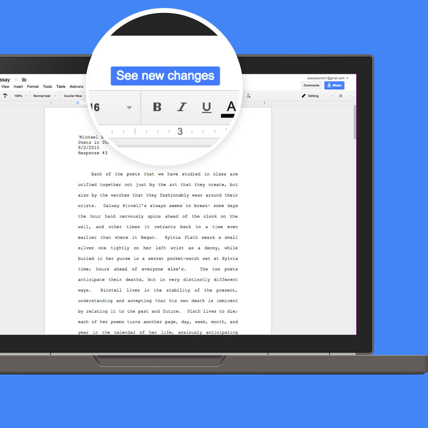Google Docs adds a quick citation button just in time for