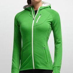 "<b>Icebreaker</b> Quantum long sleeve zip hood in Frond, <a href=""http://us.icebreaker.com/en/hoodies/quantum-long-sleeve-zip-hood/101466.html?dwvar_101466_color=301&cts=001%7C301%7C401%7C501"">$189.99</a>"
