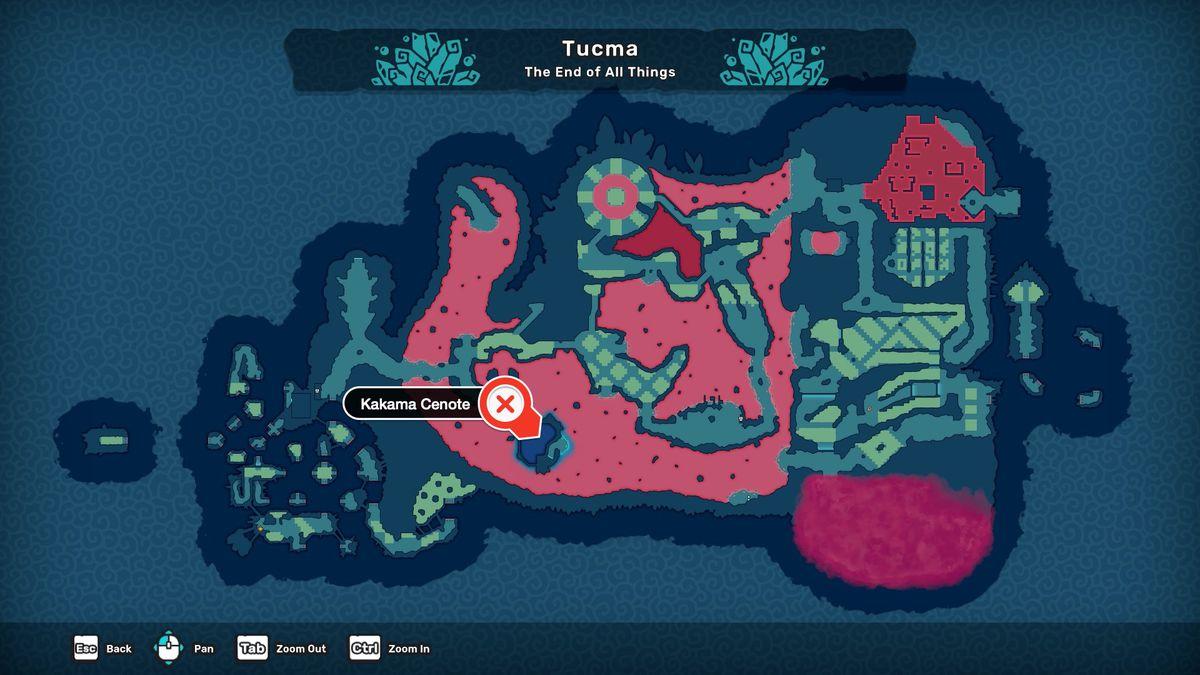 Temtem how to evolve Tuwai Cultist Hunt Crystal Shrine Bunbun Kakama Cenote location map