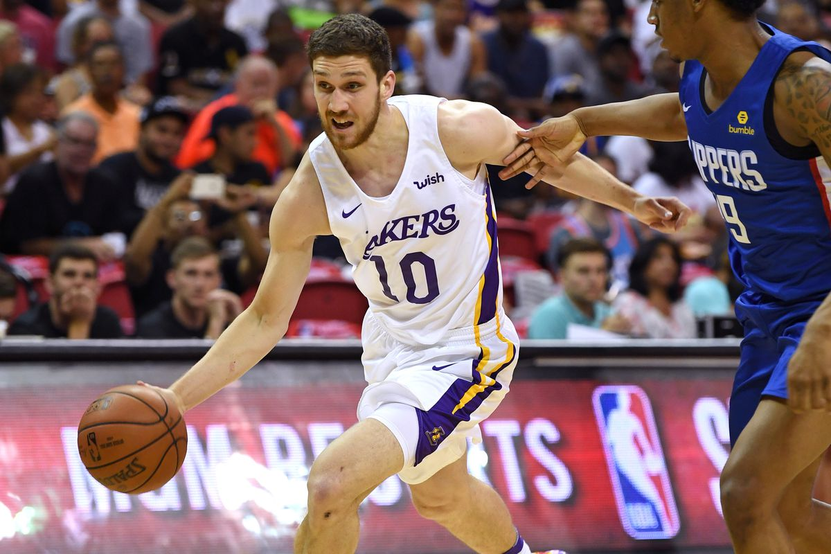 94a12b931596 Stephen R. Sylvanie-USA TODAY Sports. The trade restrictions on Los Angeles  Lakers rookies Moe Wagner ...