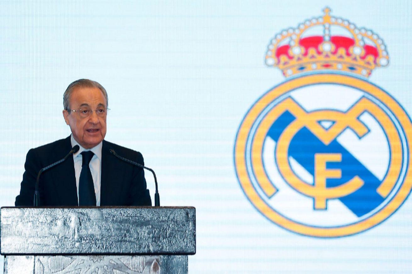 Real Madrid Honoured Peñas before Spanish Supercup Final