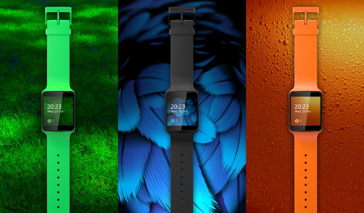 Microsoft Moonraker smartwatch photos