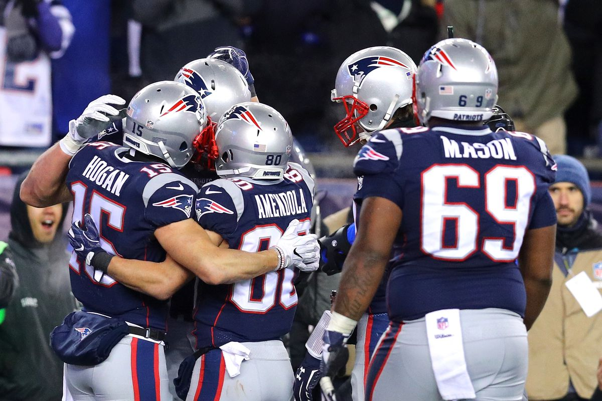 761bcb5b6 Patriots vs. Titans: Fan Notes from the AFC Divisional Round - Pats ...