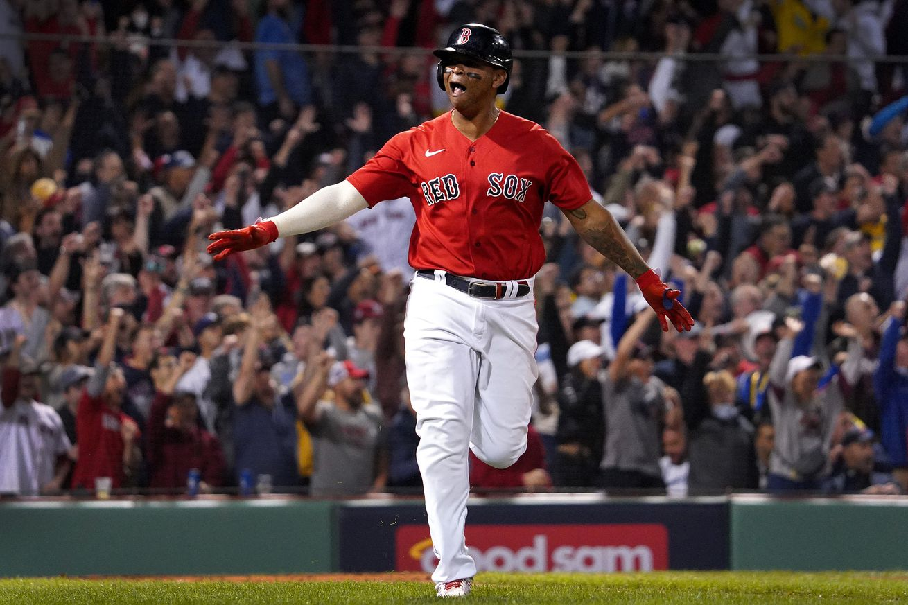 Tampa Bay Rays Vs. Boston Red Sox at Fenway Park in ALDS