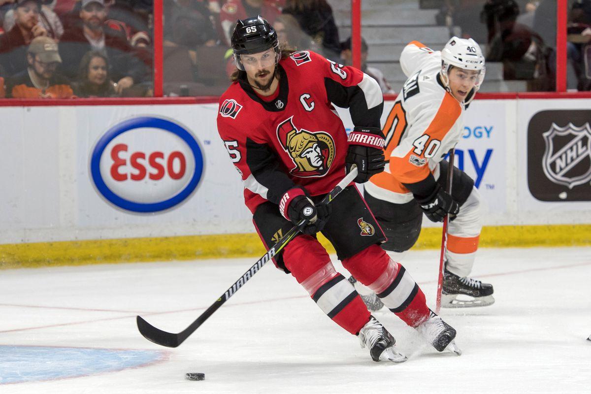 NHL: Philadelphia Flyers at Ottawa Senators