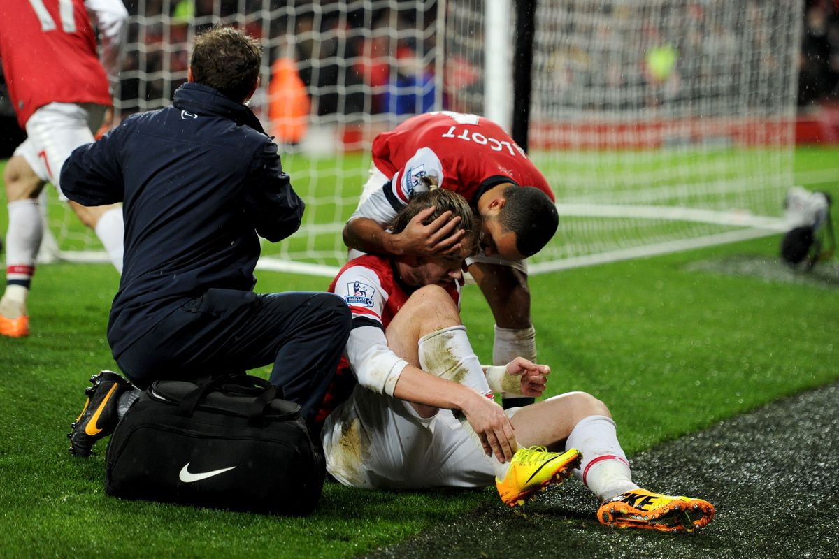 Arsenal's future rests on this ankle.