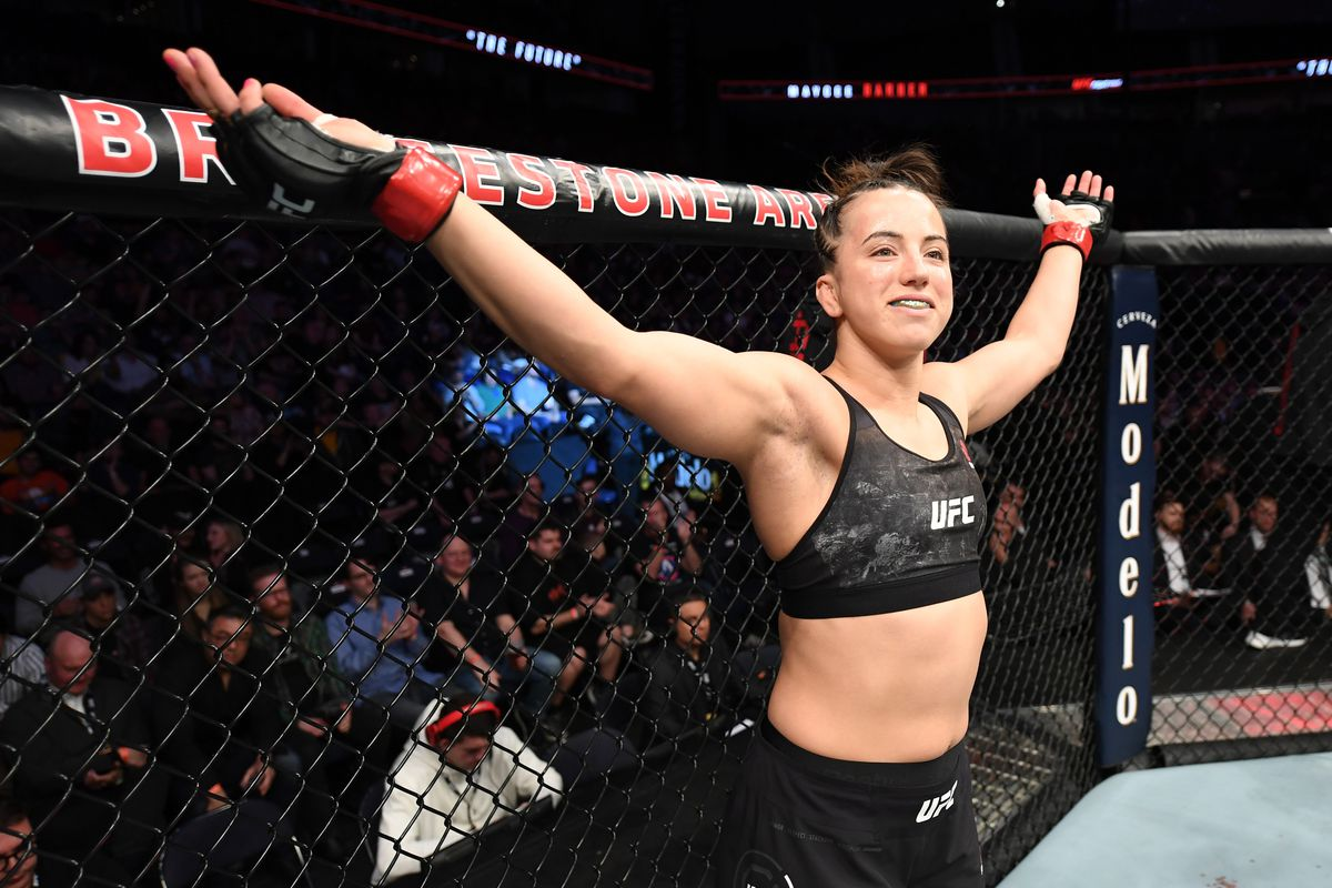 Maycee Barber returns, faces Roxanne Modafferi at UFC 246 on Jan. 18
