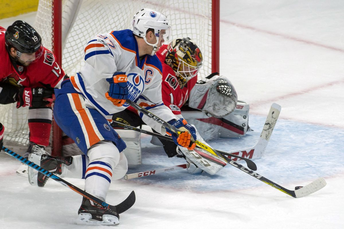 NHL: Edmonton Oilers at Ottawa Senators
