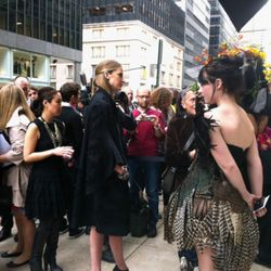 Note that the girl in the feathered dress is a business major.