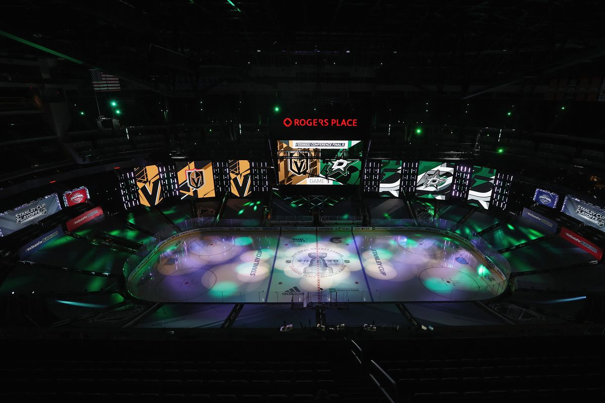 Dallas Stars v Vegas Golden Knights - Game One