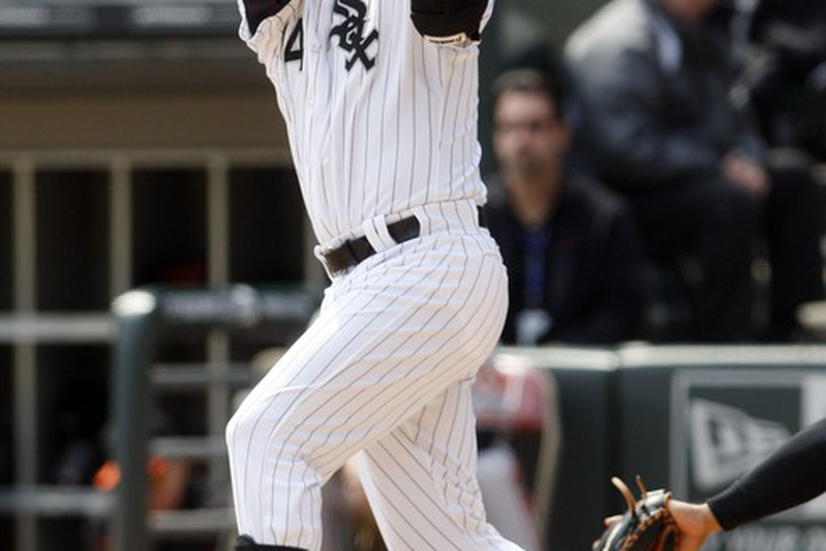 The best move Jim Johnson could have made was to drill Konerko in the 9th.  Mandatory Credit: Jerry Lai-US PRESSWIRE