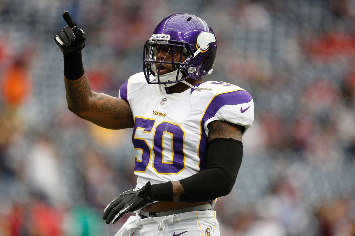 Erin Henderson signed a two year deal to remain with the Vikings
